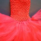 RED | baby girls tutu dress