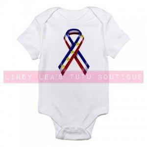 USA RIBBON |  infant bodysuit