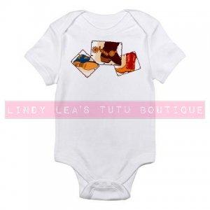 COWBOY BOOTS [2] |  infant bodysuit