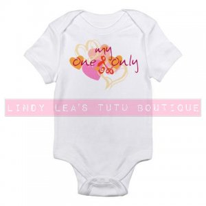 MY ONE & ONLY |  infant bodysuit