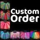 YOU CHOOSE COLORS   baby girls tutu [custom orders]