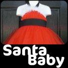 SANTA BABY | TODDLER girls special occasion tutu dress