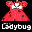 'LADYBUG' | TODDLER girls special costume tutu dress