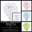 FAIRY ALPHABET | personalizable infant long sleeve tee