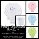 FAIRY ALPHABET | personalizable infant long sleeve bodysuit