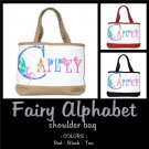 FAIRY ALPHABET | personalizable shoulder bag