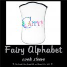 FAIRY ALPHABET | personalizable NOOK sleeve