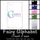 FAIRY ALPHABET | personalizable iTOUCH 2 case