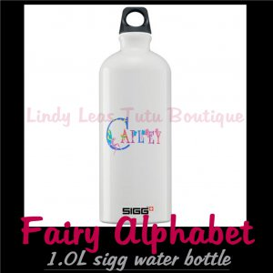 FAIRY ALPHABET | personalizable sigg water bottle