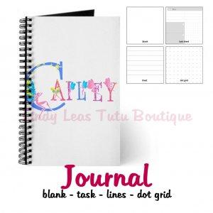 FAIRY ALPHABET | personalizable journal