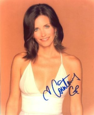 Sexy Courtney Cox Signed 8x10 Photo Reprint