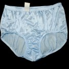 NWT. VINTAGE STYLE BRIEFS NYLON PANTIES, WOMEN'S HIP 38-40, PURPLE SOFT PANTY