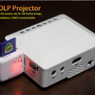 Mini DLP Projector -  Up To 120 Inches Image (white)