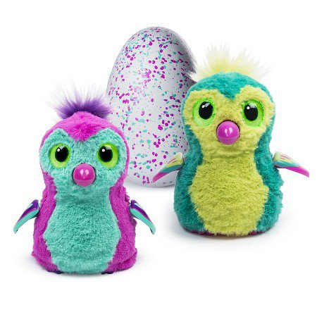 Hatchimal  PINK AND TEAL or  TEAL and PINK.  Which one is inside?