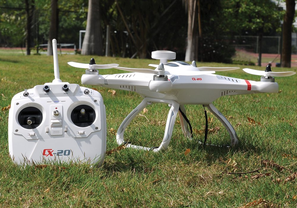 Camera Mounted Quadcopter with Failsafe and Auto Go Home landing..Fly it with ease, indoors or out.