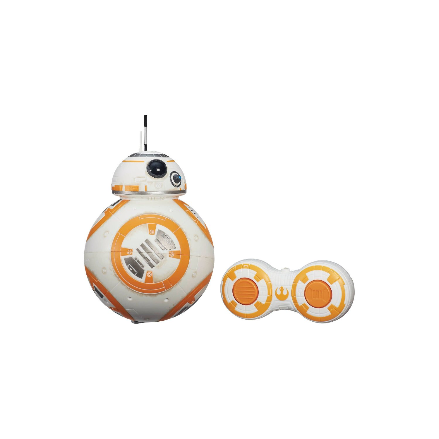 R/C BB-8 Star Wars Episode 7 .This RC BB-8 rolls in any direction and makes droid sounds.