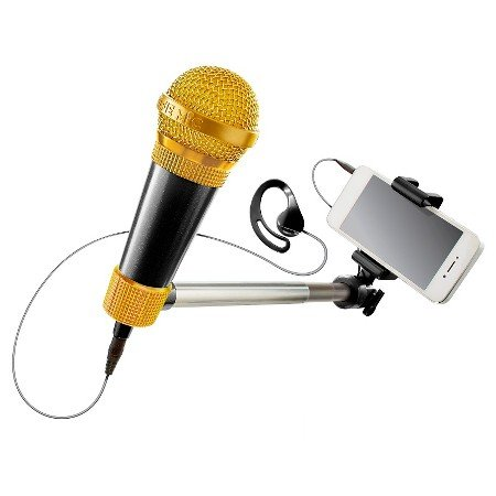 Karaoke Microphone Meets Selfie Stick. With Over 3 Million Songs.