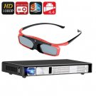 DLP Projector - With 3D Glasses-Android OS, Bluetooth 4.0, Full HD 3D