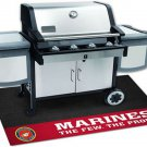 U.S Marines BBQ Grill Mat 26 inches x 42 inches Irritate Your Rival Service members.