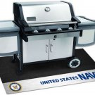 U.S Navy BBQ Grill Mat 26 inches x 42 inches Irritate Your Rival Service members.