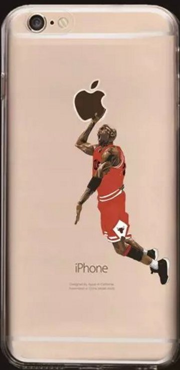 Soft Cell Phone Cases Fits iPhone 6 and iPhone 7. ** Michael J NBA**