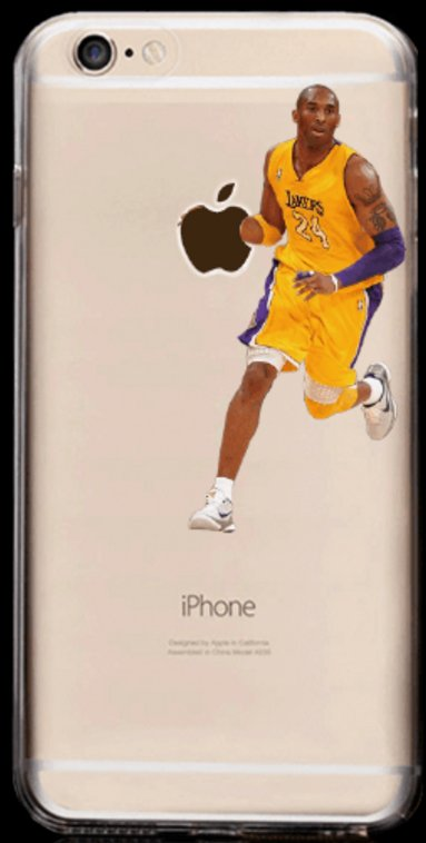 Soft NBA Cell Phone Cases Fits iPhone 6 and iPhone 7. **KOBE NBA**