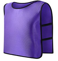 **Violet** Scrimmage Vest For Football, Soccer, Basketball, and more. Small size for Kids.
