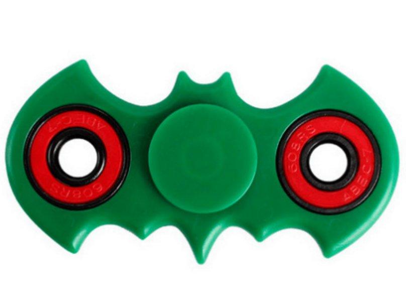 Batman Shaped Fidget Hand Spinner.Collect All Of The Fidget Friends.