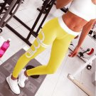 Sexy Push-up exercise Leggings. Yellow