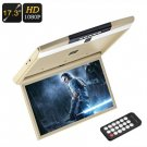17.3-Inch Roof Monitor, Remote, 32GB SD Card Slot, 2 built-in Speakers