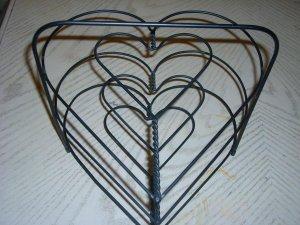 Three Tier Heart Pie Rack