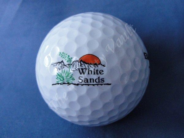 White Sands Logo Golf Ball