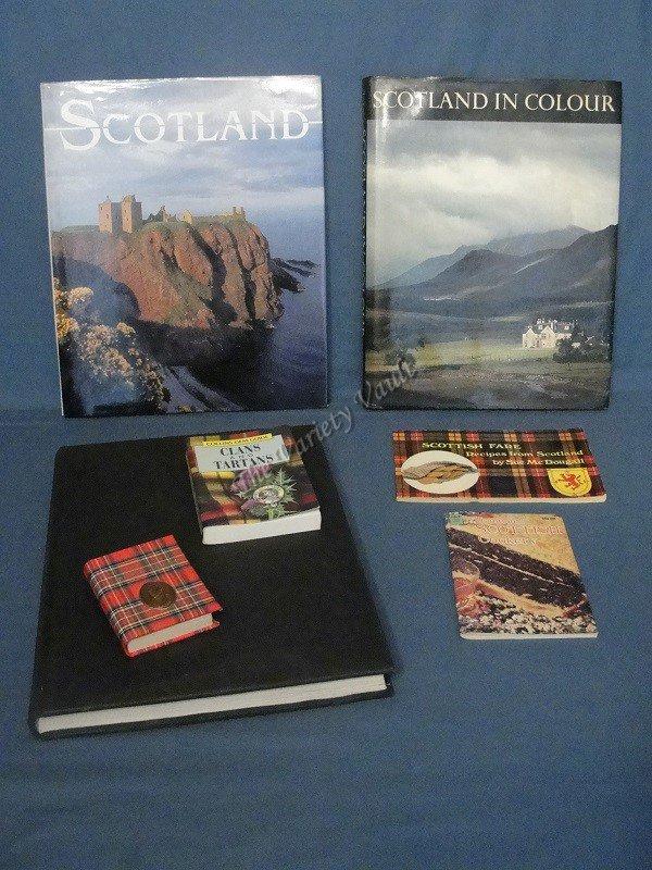 Scotland Scottish Book Lot