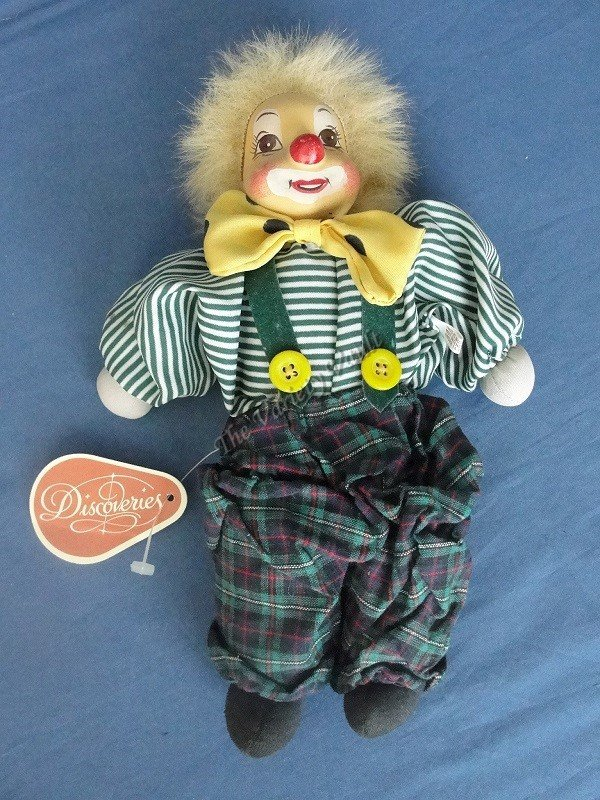 Collectible Clown Doll Discoveries Vintage