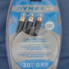 Dynex Composite Video/Stereo Audio Cable DX-AV060 NEW