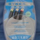 Dynex Video Component Cable DX-AV021 NEW