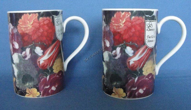 Scotland Cups Mugs Dunoon Hodnet Set of 2
