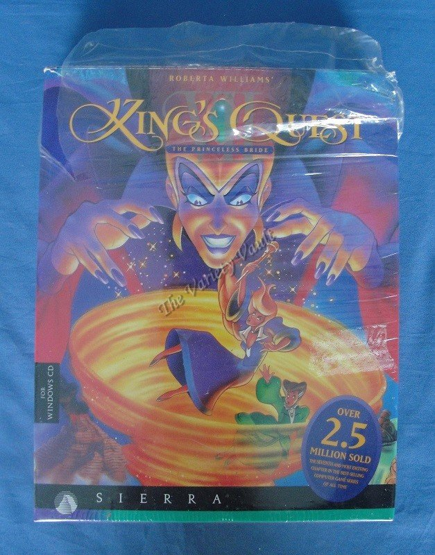 KING�S QUEST VII The Princeless Bride Windows 3.1 Sierra