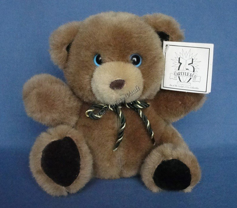 Carlyle Brown Bear with Zippered Compartment for Jewelry 1997