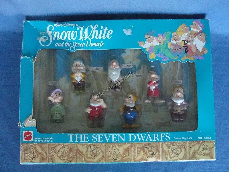 Walt Disney�s Snow White & the Seven Dwarfs  Mattel  No. 5184
