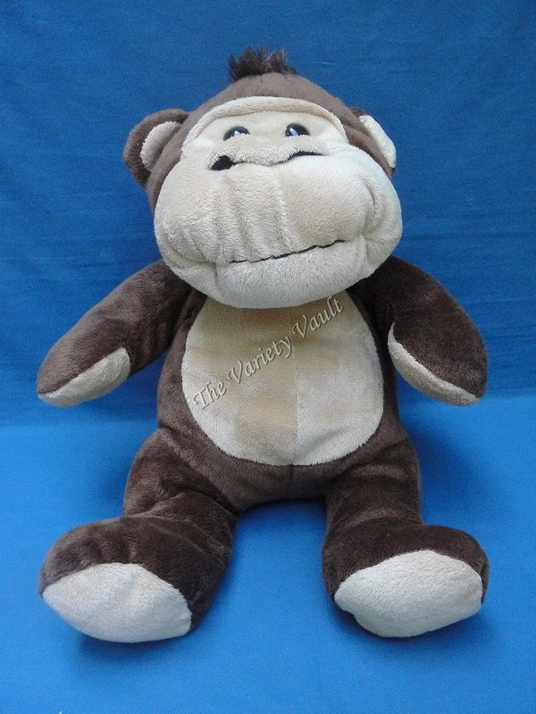 Brown Monkey Plush Stuffed Animal Cute Cuddly