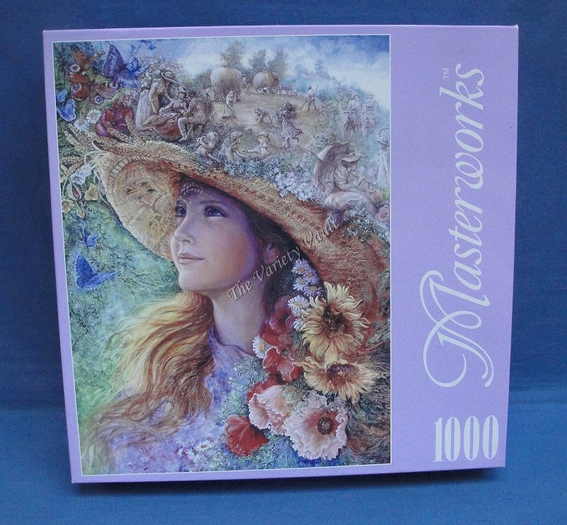 Bygone Summer 2001 RoseArt Puzzle