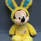 Mickey Mouse Yellow Bunny Rabbit