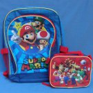 Super Mario Backpack Bookbag Luigi Yoshi Toad Donkey Kong Bowser