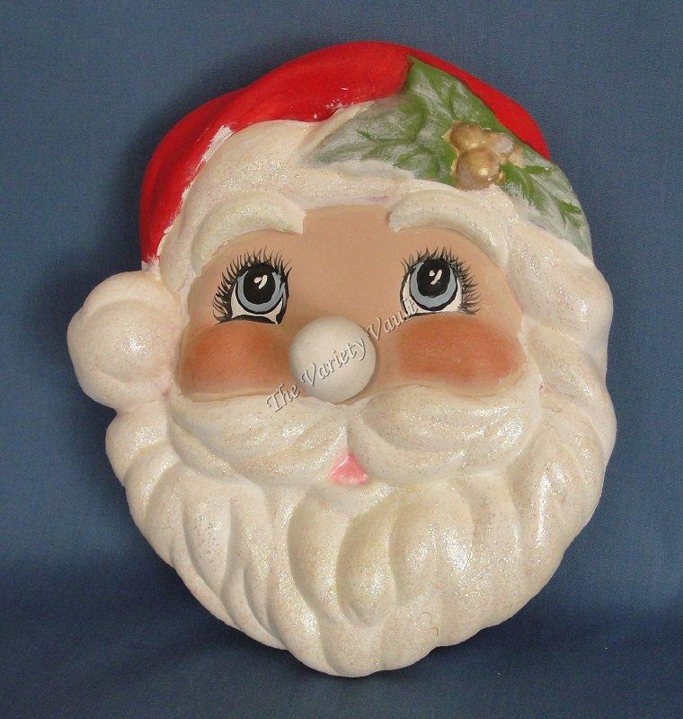 Musical Santa Claus Wall Decor Christmas Jingle Bells