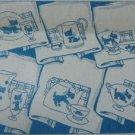 Scottie Dog Towels embroidery transfer pattern LW2890
