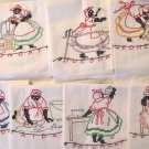 Black Americana Mammy DOW transfer embroidery pattern Su106