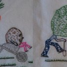 VICTORY GARDEN VEGETABLE embroidery transfer pattern Mc1216