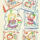 Garden Fresh FRUITS & VEGGIES embroidery transfer pattern Mc1545