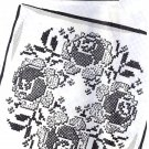 Rose Pillow Top cross stitch transfer original mo2965